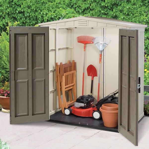 Garden Storage Sheds Garages Workshops Metal Plastic Timber Garden